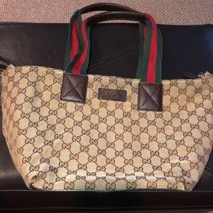 Authentic Gucci Tote Bag 👜
